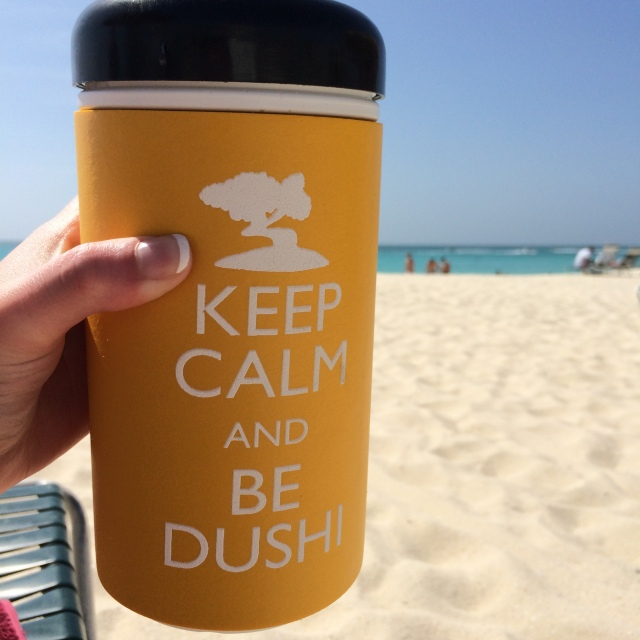 Keep calm and be dushi